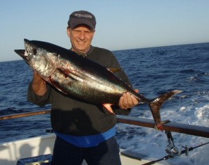 Seasons first Bluefin caught on the Shogun
