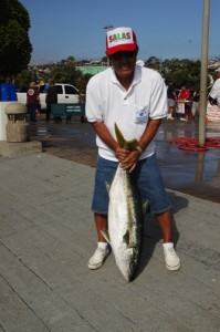 Bob Murakami with his 28# Yellowtail